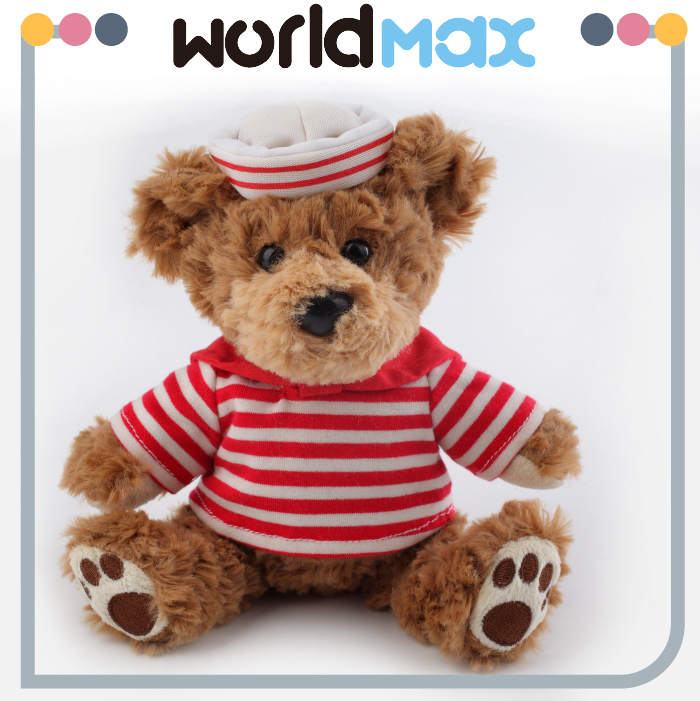 Teddy Bear With Printing T-shirt Plush Soft Toys teddy bear customized stuffed graduation bear