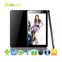 Hot selling android 4.2 dual core MTK6572 dual camera internal 3g sim card slot gps phone call 6-inch tablet pc s65