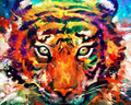 Russian New design of dangerous tiger oil painting full diamond painting
