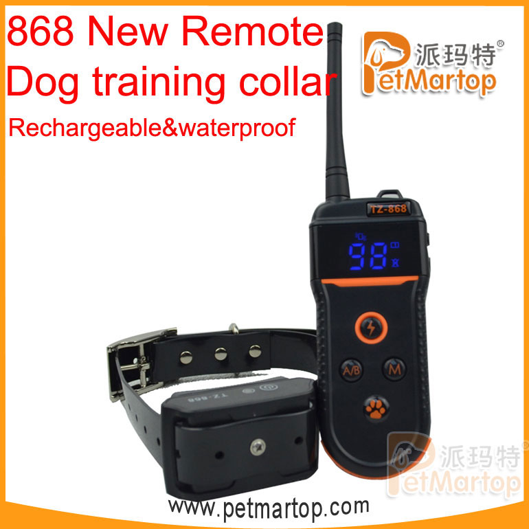 2016 Hot Selling TIZE Multi-dog Rechargeable Training Collar