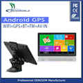 7 inch IPS Screen FM RAM1GB/ROMGB 2017 Maps Muli-languages Car GPS Navigation