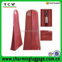 Wholesale wedding dress cover garment bag