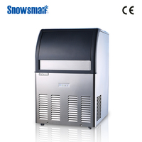 ISO certified automatic cleaning small ice machine for home use