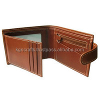 High quality handcraft leather personal men wallet