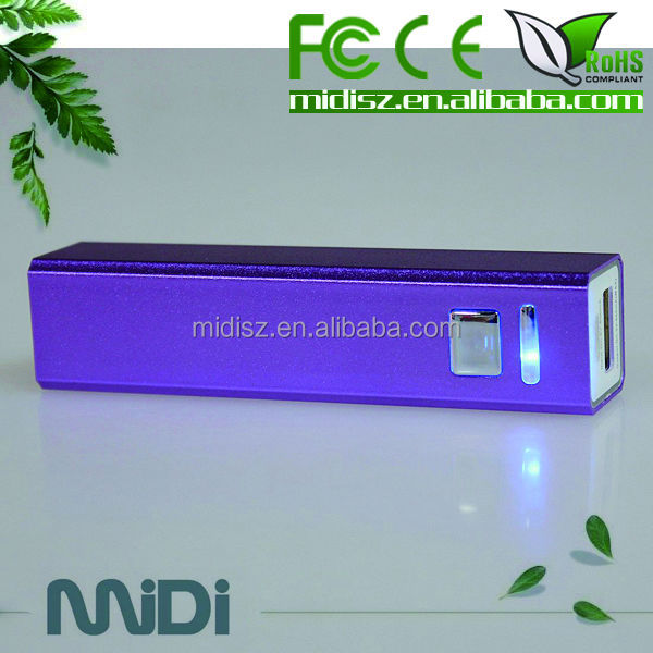 Move and Small For Perfume Mobile Phone Power Bank 2600mAh