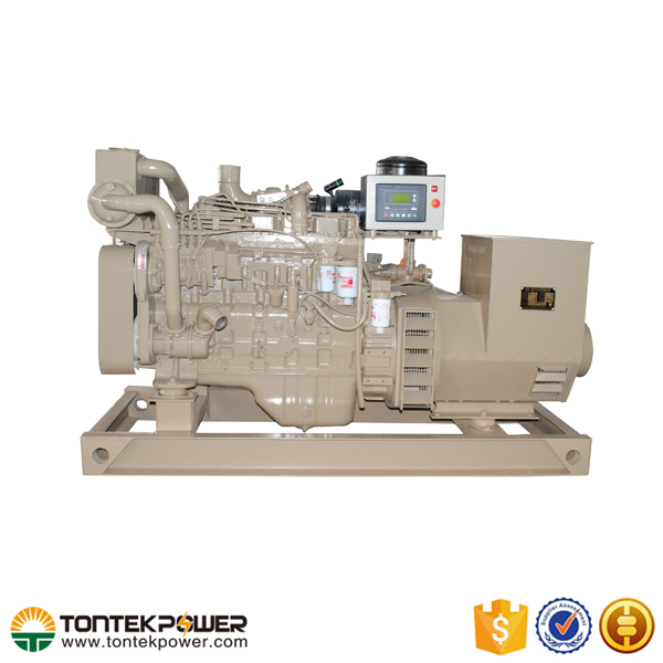 150kW Cooled By Heat Exchanger 2 stroke Marine Generator