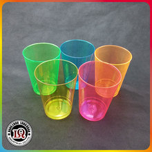 Neon Colored 10oz Plastic Tumblers Cups