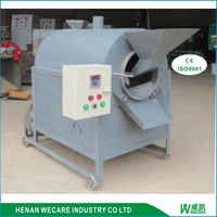 factory price commercial sesame rotary drum roaster for sale/sesame cooking machine