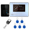 "7""1 to 2 Touch Key Video Door Phone DoorBell Intercom Monitors System Home security Outdoor camera Video Door Phone"