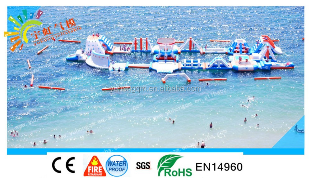 Best Sale Summer Water Park Inflatable Floating Water City ,Aqua Parks