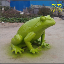 Hot-selling balcony gardening flower pot decoration home decoration resin frog craft