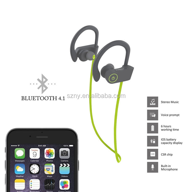 2017 best selling consumer electronics bluetooth headphone wrieless earphone