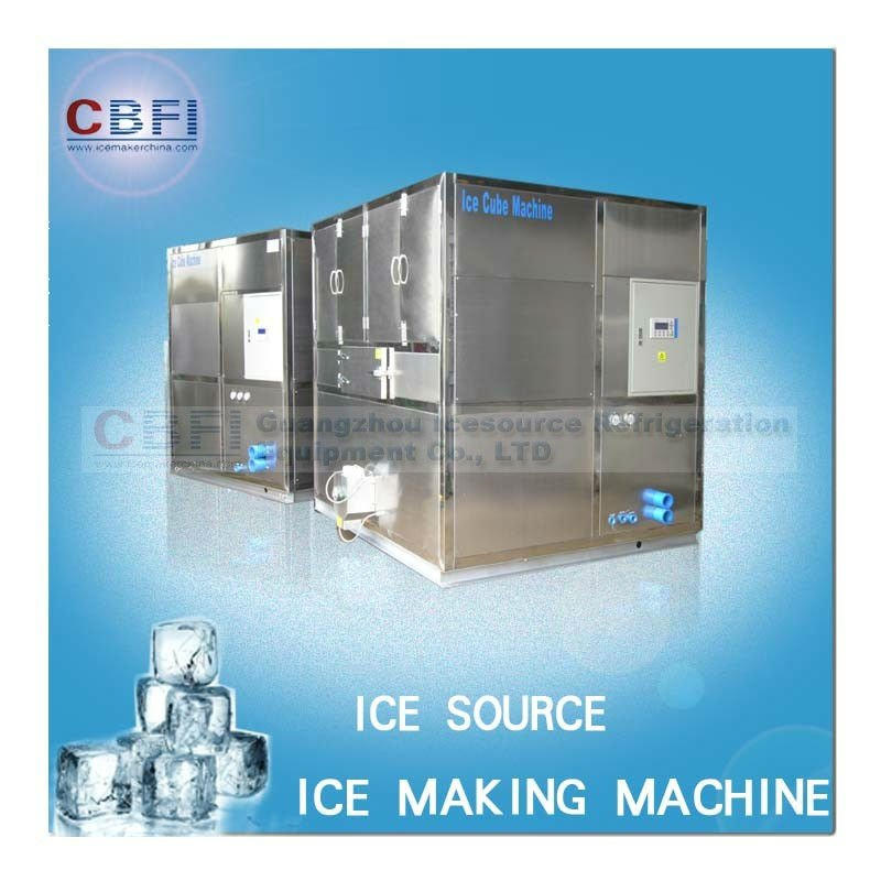 1000kg to 20000kg automatic ice outlet ice pop making machine