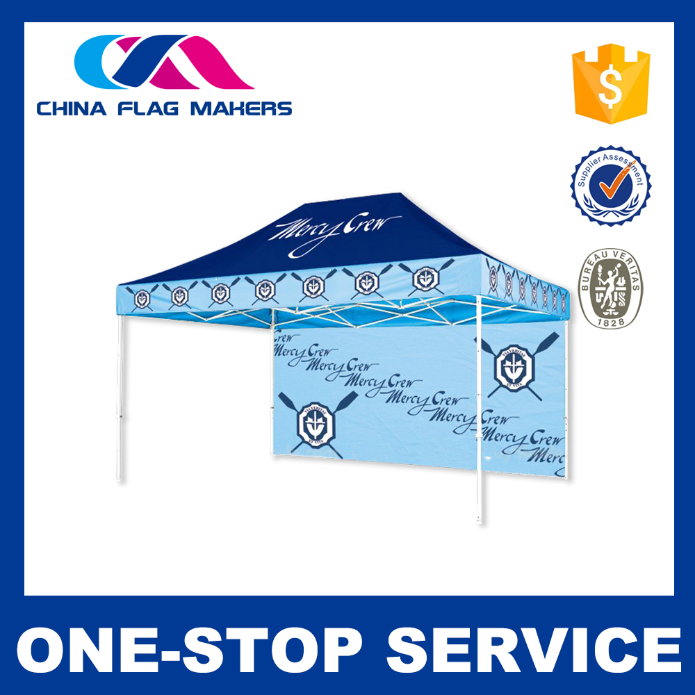 Custom printed 10 x 15 pop up canopy for your advertising needs