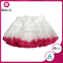 High quality tutu girls baby fluffy pettiskirts and girls princess skirts party dress girl skirts