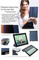 For Protect New iPad Stand Cases 01