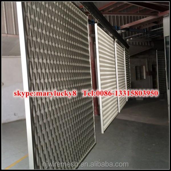 Anti Static Walls : Anti static pvdf expanded mesh exterrior wall claddings