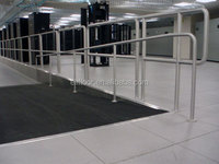 Anti-static computer room raised access floor tile