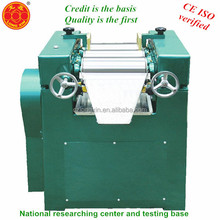best selling small lab three roll mill/grinder for chemicals