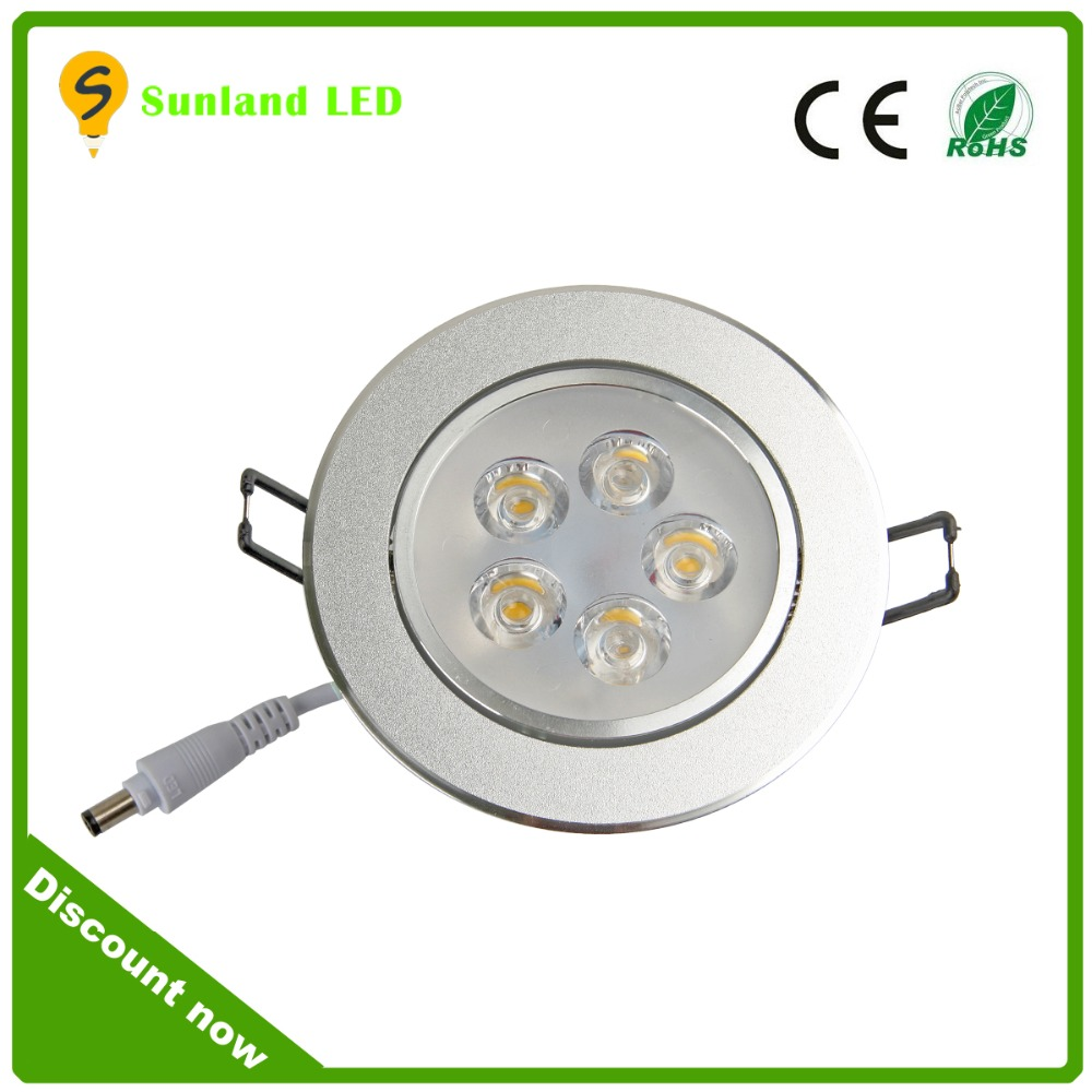 Wholesale indoor decor silver embeded recessed 1200 lumen 12w led ceiling lights fixtures