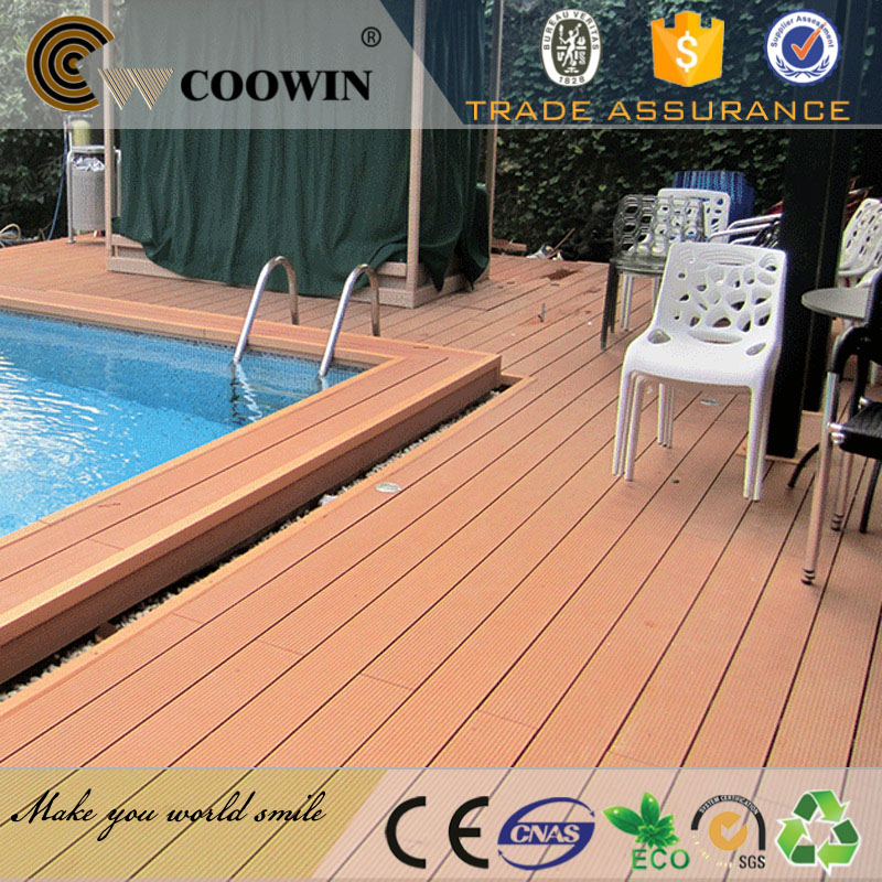 Eco-friendly branded wpc sports leather floor covering
