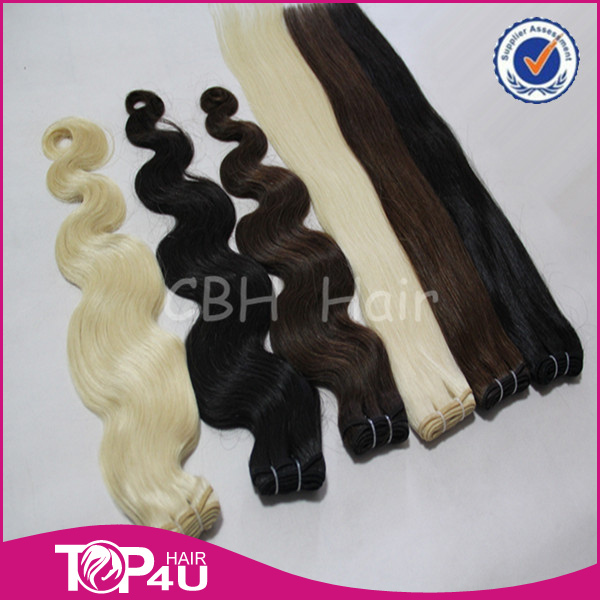 2015 Hot Selling Brazilian Human Hair Wet and Wavy Weave