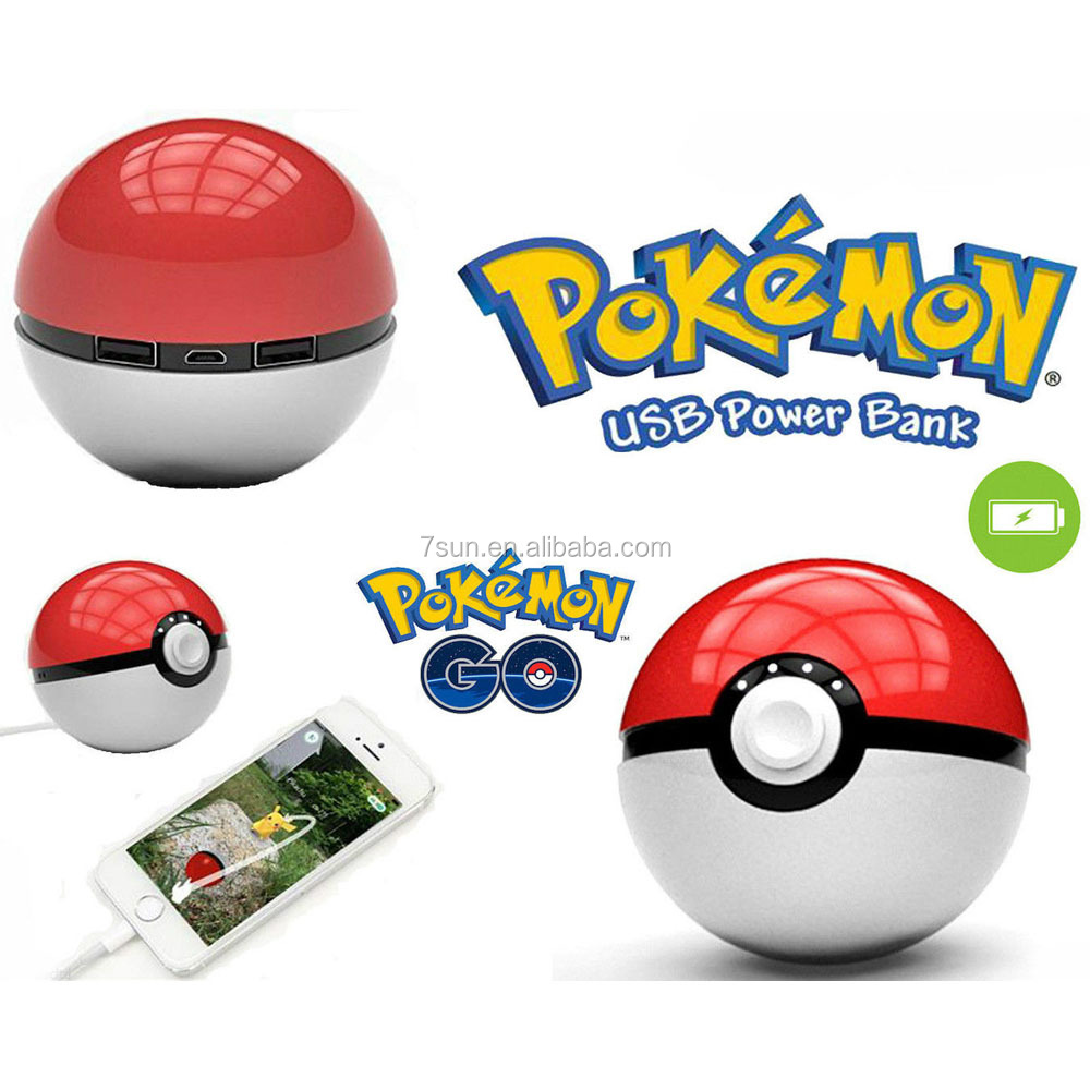 2016 new gadgets power bank pokemon
