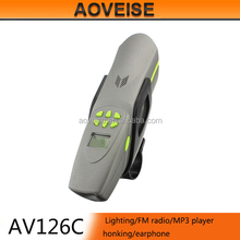 bicycle ring bell for outdoor cycling speaker AV126C[AOVEISE]