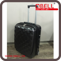 Promotion Diamond PC trolley case Front can open for Lap top /Suitcase luggage with notebook bag printing