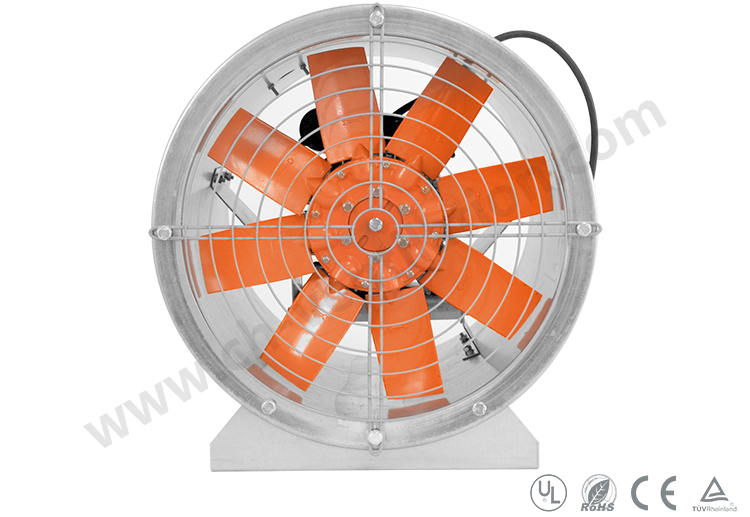 Best Selling Industrial Ventilation Vaneaxial Fan Axial Fan