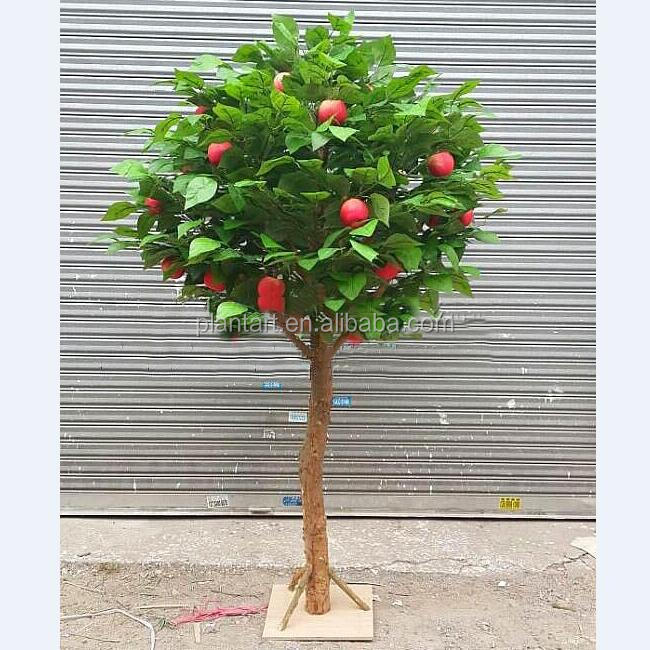 Guangzhou Shuyi Landscaping artificial apple tree for indoor decoration