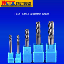 Weitol coated milling cutter HRC 50 black High speed cutting tool
