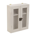 White Painting MDF Wooden Storage box with hinges