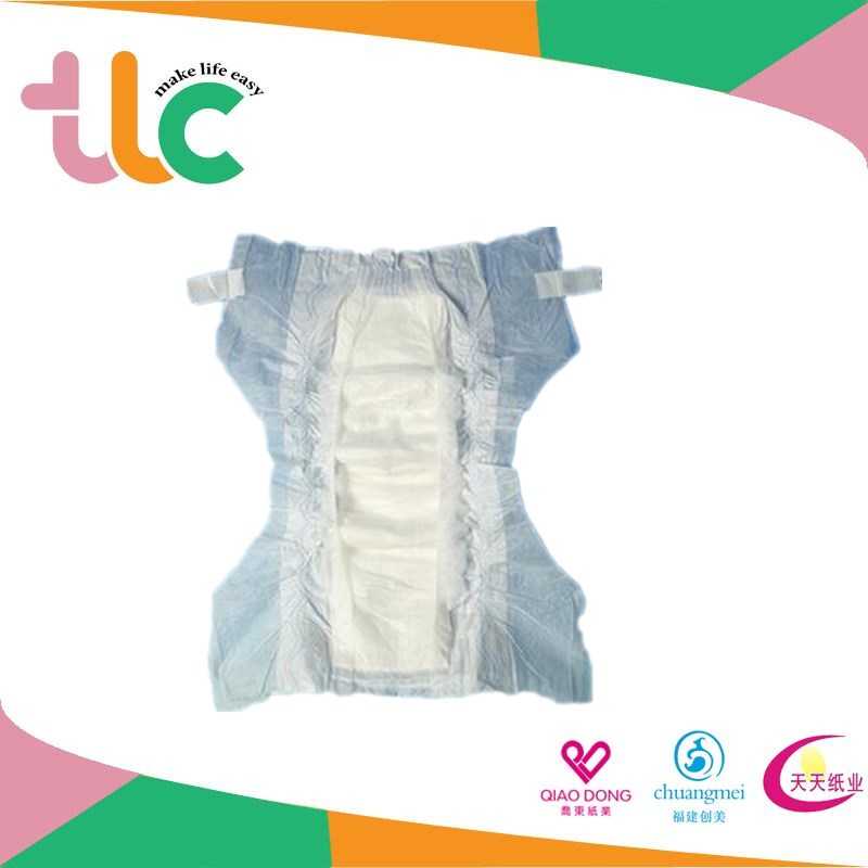 Oem disposable baby diaper Air-laid paper diapers manufacture