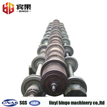 concrete pole making machine