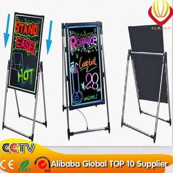 high quality high brightness LED writing board ali express new invention 2016 best for advertising factory direct