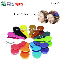 Your own brand glitter hair dye color herbal beauty hair chalk temporary hair rub with organic colored powder
