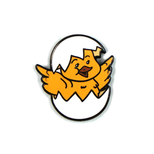 In Stock Easter Gift Cute Chicken Metal Hard Enamel Hat Pins For Clothes