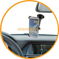For SAMSUNG N7100 GALAXY Note 2 Car Windshield Mount Holder Rotation Swivel from dailyetech