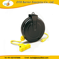 rewinder power cord automatic cable retraction reels