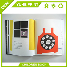 100% quality guarantee mass overseas low price art paper CMYK printing softcover child book