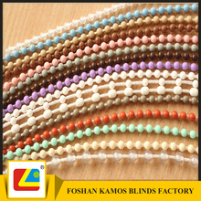 kamos 4.5x6mm roller blind plastic ball chain