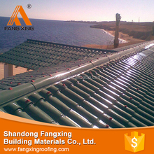 2016 New design low price kerala lightweight roofing materials , pvc roof tile , roof tile