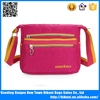 China factory 2015 fashion sling waterproof messenger bags ladies