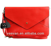 red active envelope clutch bags,new 2014 bags shoulderbags