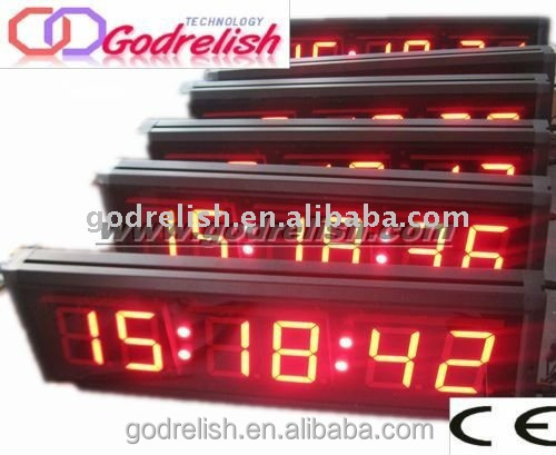 Professional rhythm quartz clock good quality
