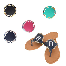 CFP A016 Lady Personalized Sandals Disc Monogram Sandal