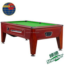 Shender 7ft Empire Coin Operated oak pool table billiard China