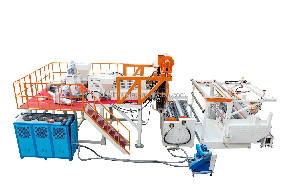 High Speed LDPE Cast Stretch Film Machine with Vacuum Pump