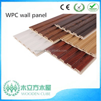 WPC textured wall panels, thin wood panel